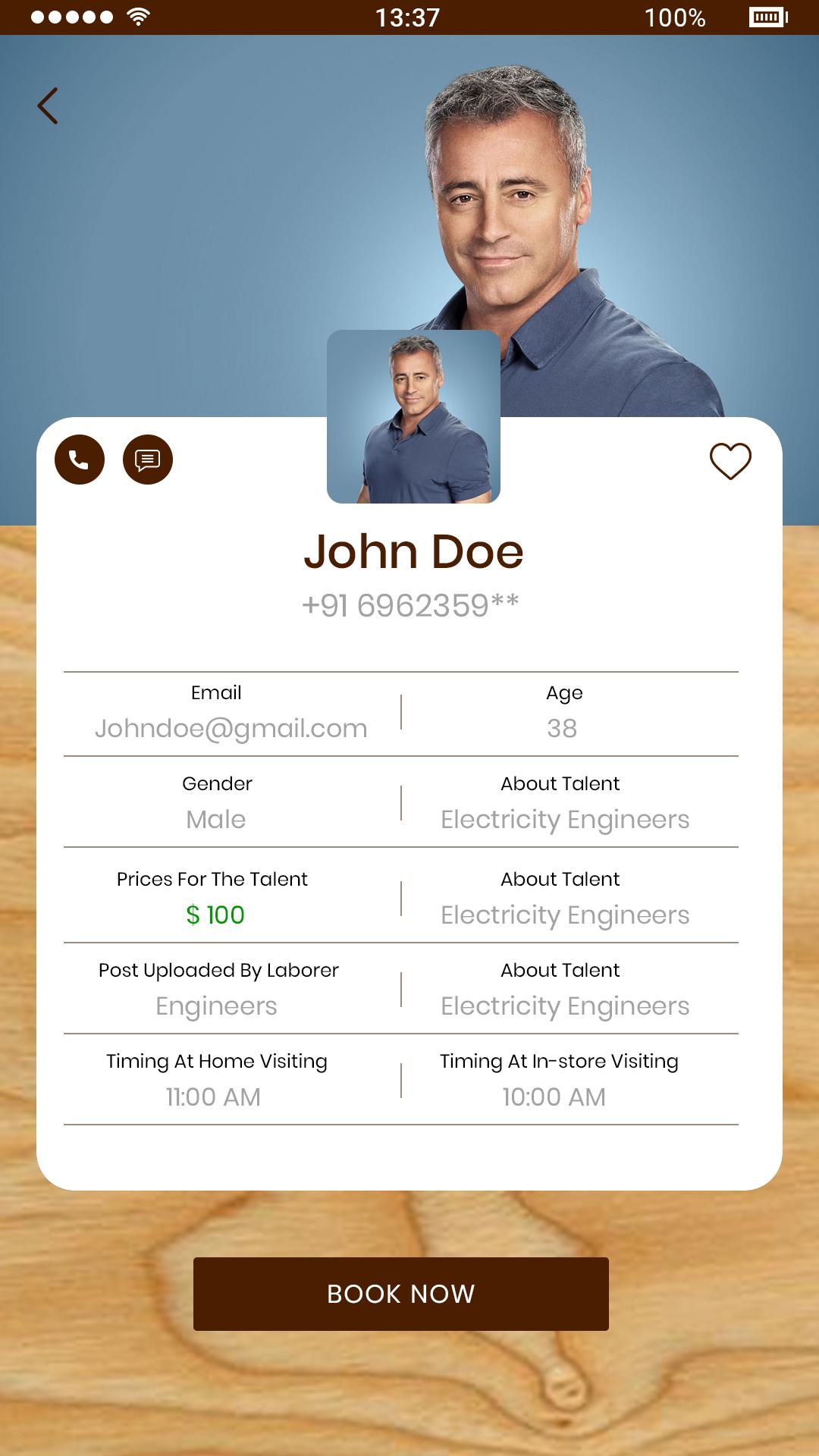 Mobile App Design – Service